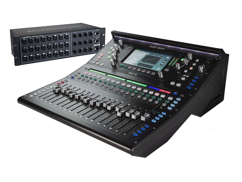 Allen & Heath SQ-5 + AR2412